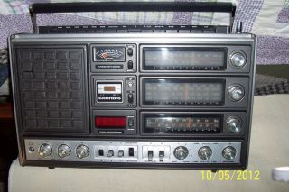 Vinage 1977 Grundig 3000 Saellie Shorwave Radio Made in Germany
