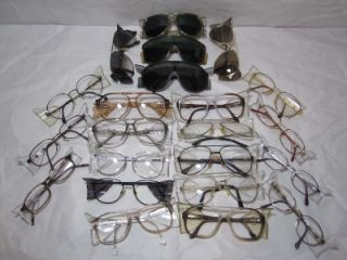 lot 22 bold aviator safety glasses sunglasses goggles frames with side