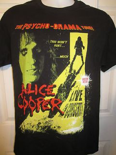 Hot Topic Alice Cooper THE PSYCHO DRAMA TOUR  T Shirt Size X Large