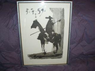Picasso Bullfighter I Toros Y Toreros 5 7 59 on Art Board