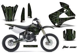 AMR RACING DIRT BIKE MOTOCROSS GRAPHIC STICKER KIT KAWASAKI KX 85 100