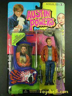 Austin Powers Scott Evil Blurred Shirt figure McFarlane 41146