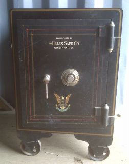 Antique Floor Safe from Halls Safe Co of Cincinnati Oh Safe located