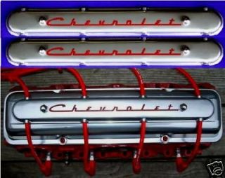 Chevrolet Valve Covers Wire Looms 32 Ford Rat Hot Rod SBC BBC