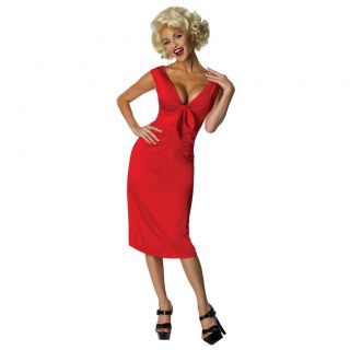 Adult Actress Entertainment Star Sexy Showgirl Marilyn Monroe Dress