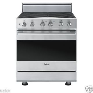 Viking 30 Freestanding Dual Fuel SS Range with 4 Sealed Burners