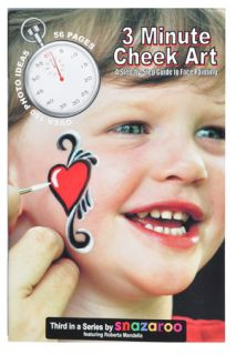 Minute Cheek Art Book Step by Step Face Painting Art Designs