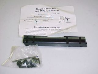 Newly listed ACTION ARMS RUGER RANCH M77/22 RIFLE SCOPE MOUNT