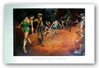 African American Art Bounce Rock Skate David Garibaldi