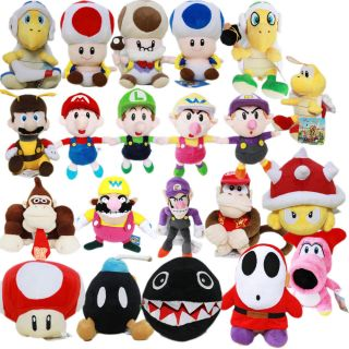 Nintendo Plush Toy Super Mario Game Figure Stuffed Animal Cute Teddy