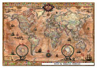 picture 1 of EDUCA 1000 pieces jigsaw puzzle Genuine   Antique World