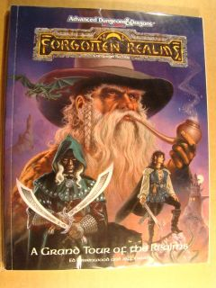 FORGOTTEN REALMS   GRAND TOUR   DUNGEONS DRAGONS