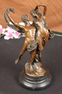 Bronze Statue Lovers Ballet Dancers Lovers Actors Drama