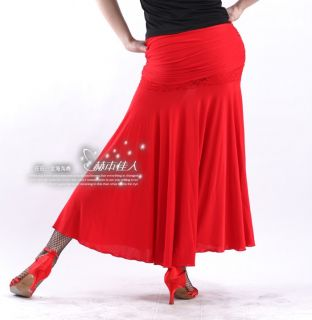 New Latin Salsa Flamenco Ballroom Dance Dress HB118 Skirt