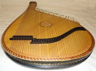 Beautiful Ukrainian BANDURA 55 Strings Original