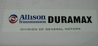 Allison,Transmission,Duramax,Deisel,GM,Chevolet,Alum.Sign,6x24