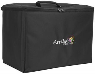 Arriba ATP19 Ultra Durable Multi Purpose Stackable Case with Two
