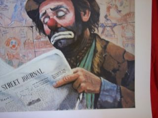 Emmett Kelly  Wall Street Journal  by B.L.J.
