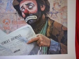 Emmett Kelly  Wall Street Journal  by B.L.J.