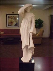AUSTIN PROD PRODUCTIONS 1980 Sculpture of a Woman 24 Tall