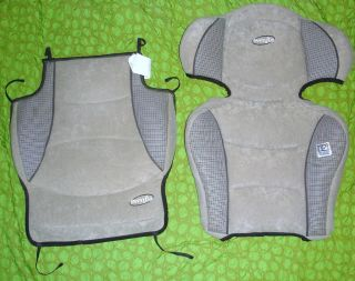 Evenflo Big Kid Booster Car Seat Replacement Pad Cover Set