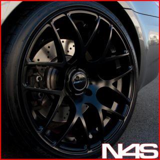 19 BMW E60 M5 Avant Garde M310 Concave Black Staggered Wheels Rims