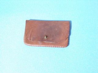 vintage leather ammo pouch belt loop time left $ 24