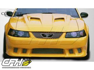 Ford Mustang Colt Front BUMPER Kit Auto Body   1 Pc 99 04 New Part A+