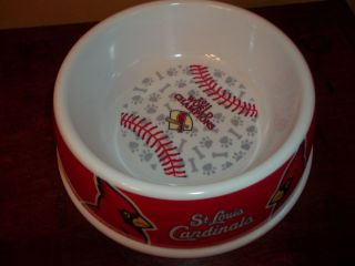 St. Louis Cardinals 2011 Baseball World Series Champs Purina Dog Bowl