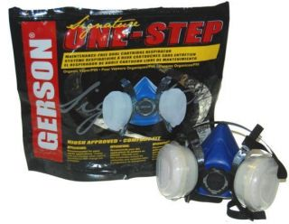Gerson MD Dual Cartridge Respirator Mask Auto Car Paint