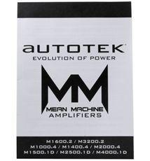 Autotek M2500 1 2500 Watt Peak 1250 Watt RMS Class D Mono Amplifier