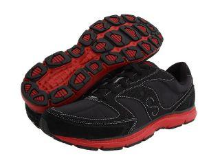 Saucony Originals Mens Mod O Sneaker Shoes Black Red