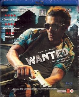 Wanted Salman Khan Ayesha Takia Indian Blu Ray DVD