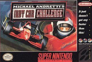 Michael Andrettis Indy Car Challenge Super Nintendo, 1995