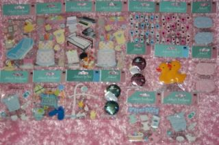 Cricut Baby Steps Birthday Bash New Hot $600 Lot 185 Items Dont Miss