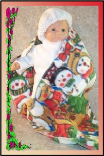 Doll Clothes Snow Suit fit 16 inch American Girl Bitty Baby NEW