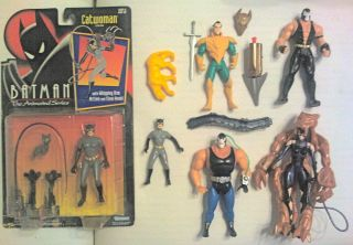 BATMAN ACTION FIGURES BANE CATWOMAN RAS AL GHUL DARK KNIGHT RISES