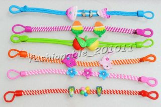 Polymer Clay Assorted Children Kid Baby Jewelry Bracelet 24pcs