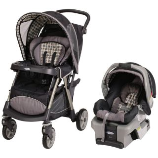 Baby Travel System Unisex Stroller Car Seat With Base Nice Infant Gear