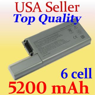 New 6 Cell Battery for Dell Latitude D531 D531N D820 D830 Precision