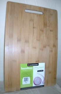 House Oversize Natural Bamboo Cutting Board Eco Friendly