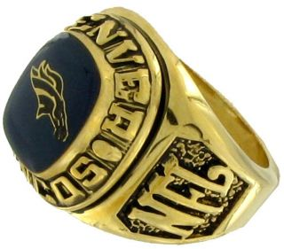 Balfour Ring Boxed Football Offical Nfl Denver Broncos Sz 7 5