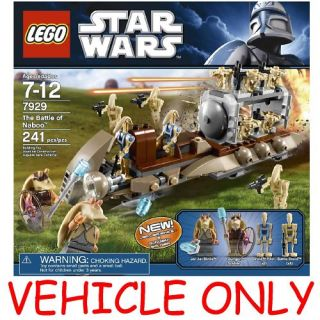 Lego Star Wars 7929 Battle of Naboo Droid Transport