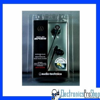 Audio Technica ATH CKS70 Black in Ear Earbud Headphone