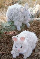 Crochet Baby Animals Rabbit Vintage Annies Attic