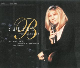Barbra Streisand The Concert 2 Disc CD Set 074646610923