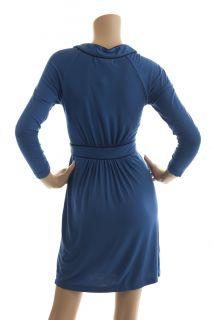 BCBG Max Azria Larkspur Blue Dress New Size L