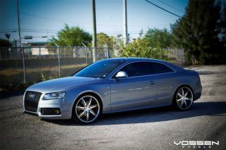 20 Vossen VVS086 Wheels 5 Lug 112mm Silver Car Rims Audi Mercedes