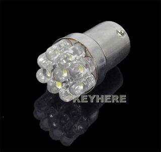 Car 1156 382 Tail Brake Turn Signals 9 LED Bulbs Light BA15S P21W