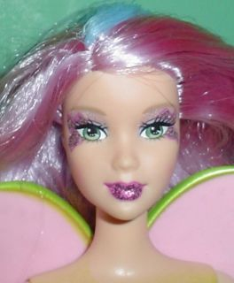 Barbie Fairytopia Mermaidia Mariposa Fairy Doll HTF 2006 for OOAK Play